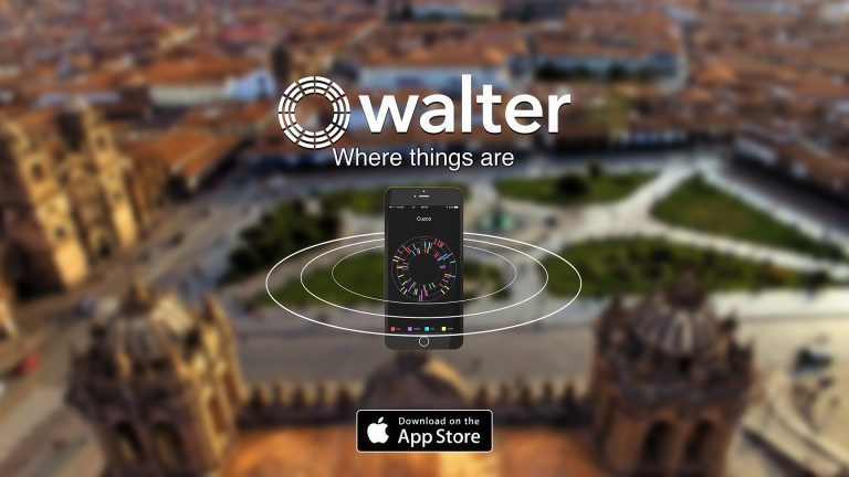 Walter is a smart travel compass