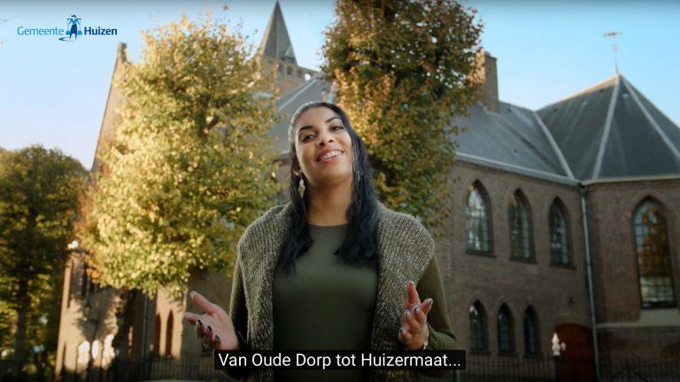 wervingsvideo voor de Gemeente Huizen gefilmd door Cameraman Maarten smeenk